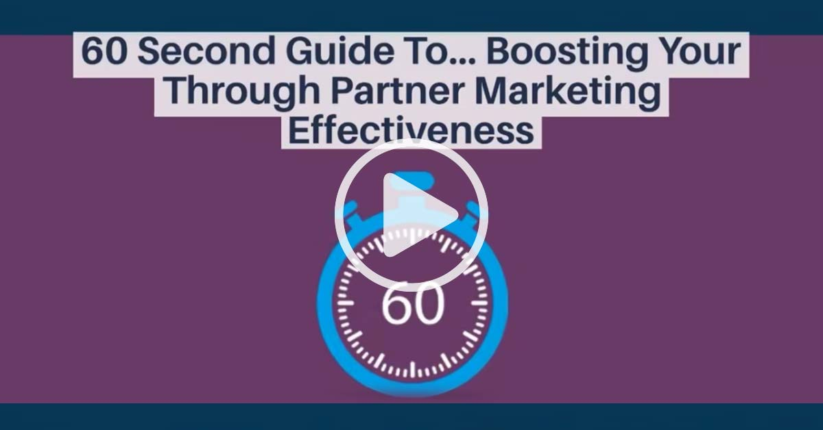 Video: Marketing Capability 60 Seconds Guide